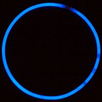 Blue Glow Necklace
