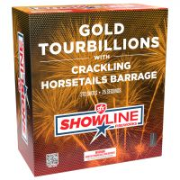 Gold Tourbillions to Crackling Horsetails Barrage