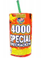 4,000 Special Firecrackers