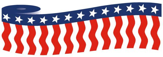 Patriotic Bunting (Style 1)